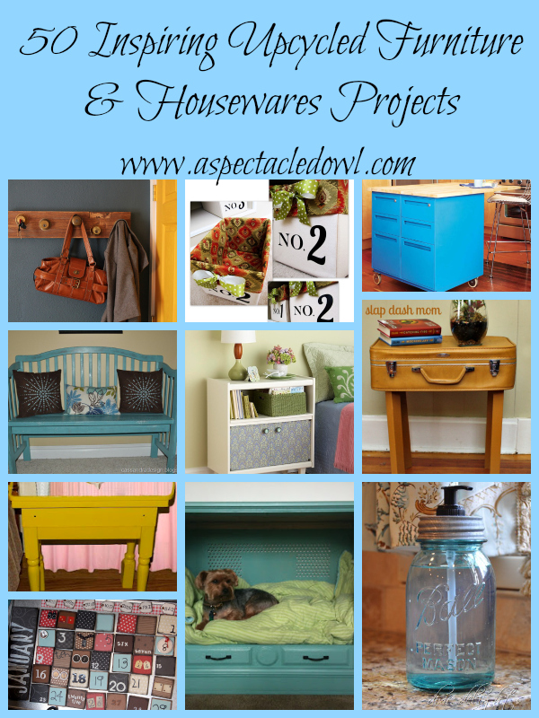 50 inspiring upcycled furniture housewares projects - Upcycling ideas for furniture ...