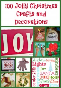 100 Christmas Crafts & Decorations