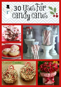 30 Uses For Candy Canes – Food, Crafts & Decor