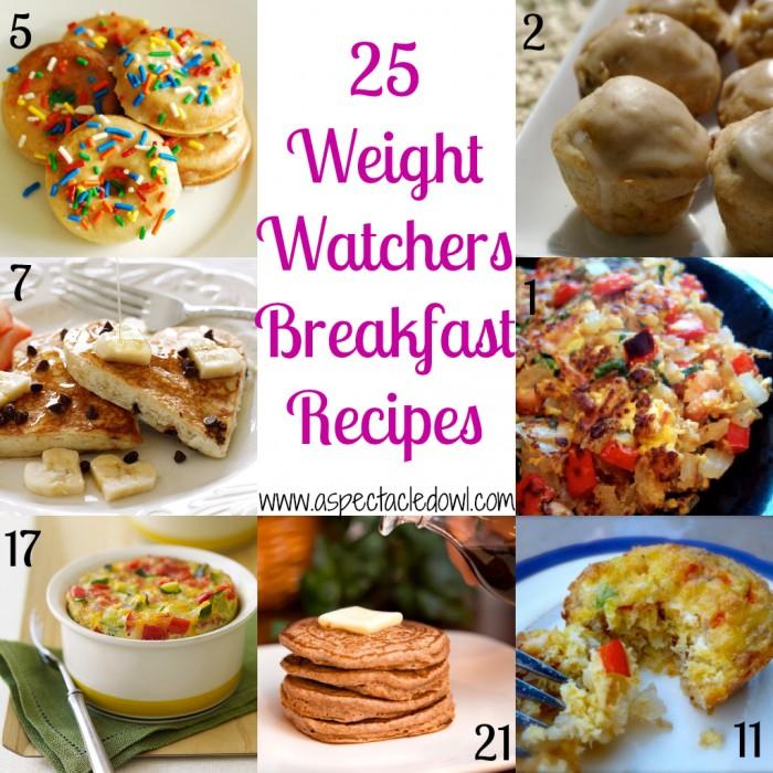 25 weight watchers breakfast recipes a spectacled owl - Cuisine weight watchers ...