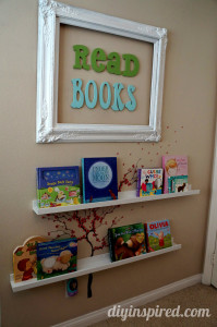 {Guest Post} - DIY Reading Nook For Kids - A Spectacled Owl