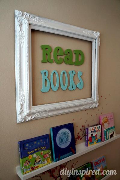 DIY Reading Nook For Kids