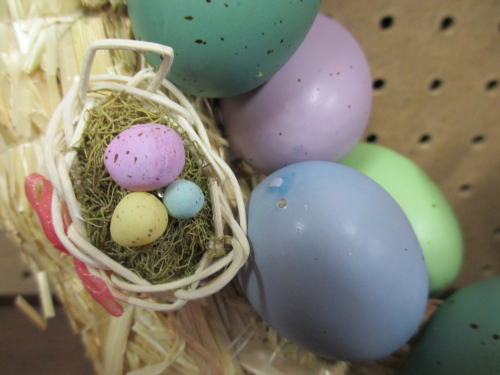 diy easter wreath