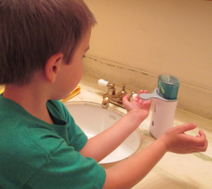 LYSOL No-Touch Hand Soap System Review - A Spectacled Owl
