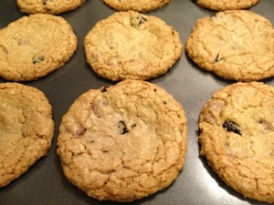 {Guest Post} Chocolate Cherry Oatmeal Cookies - A Spectacled Owl