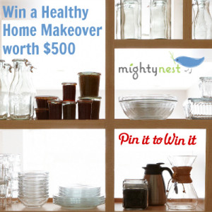 Creating a healthy home with MightyNest (plus a great giveaway!)