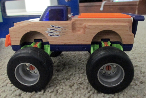 MOTORWORKS by Manhattan Toy wooden toy vehicles