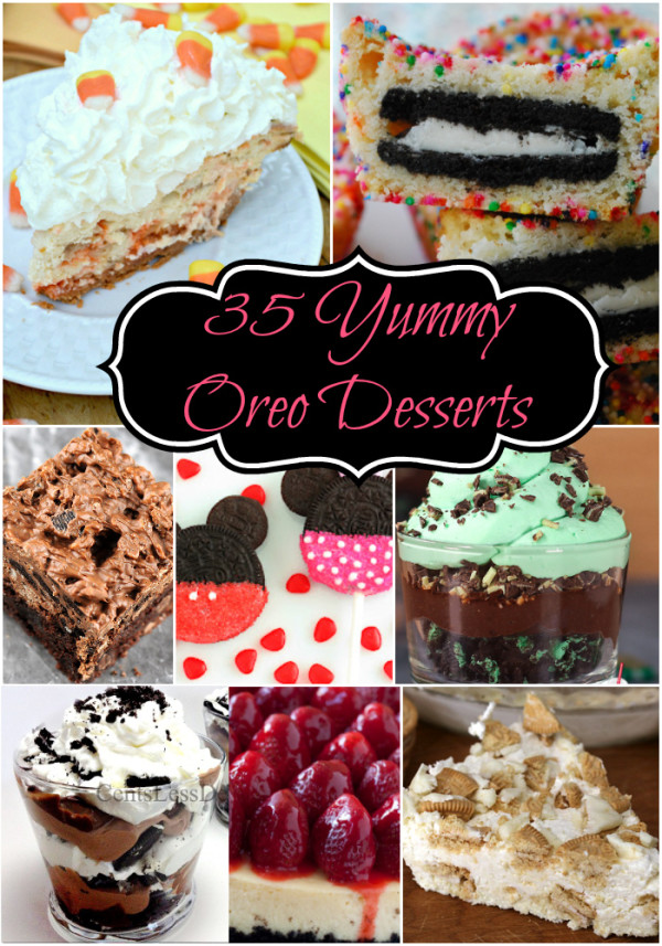 35 Yummy Oreo Dessert Recipes