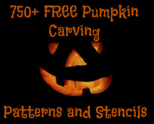 FREE Pumpkin Carving Patterns and Stencils