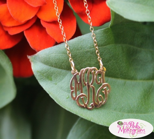 Personalized Gifts from The Pink Monogram