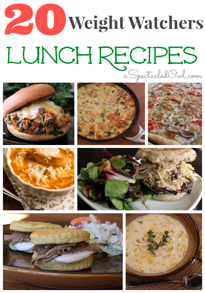 20 Weight Watchers LUNCH Recipes