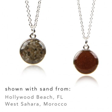 Collectible, Keepsake Jewelry Made with Real Beach Sand - Dune Jewelry