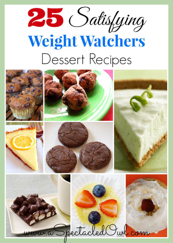 25 Satisfying Weight Watchers Dessert Recipes