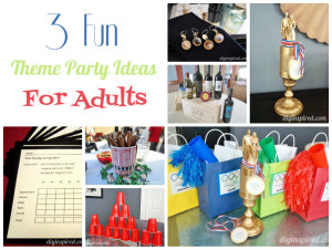3 Fun Theme Party Ideas For Adults