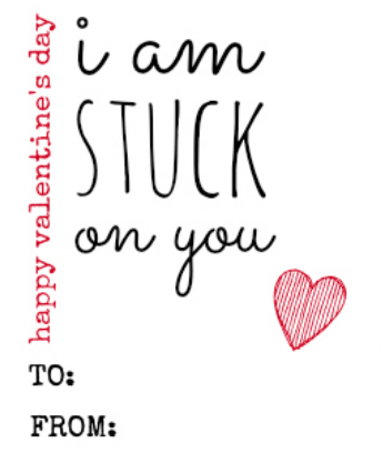 Printable Valentine's Day Cards – Three to Choose From!