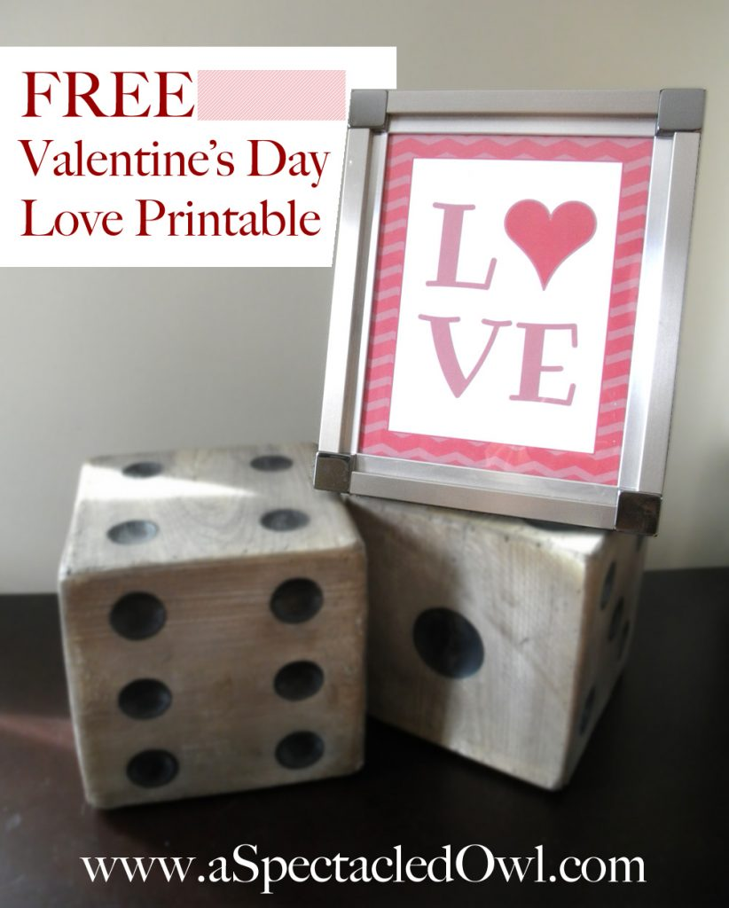 Free Valentine's Day Love Printable