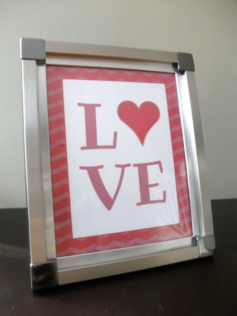 love-printable-framed
