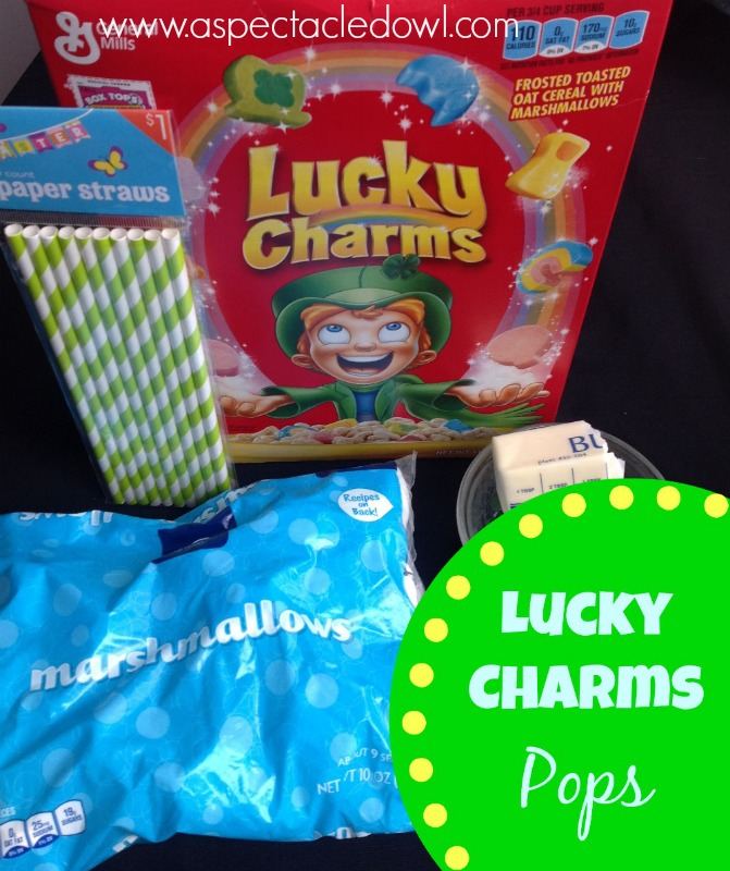 Lucky Charms Pops