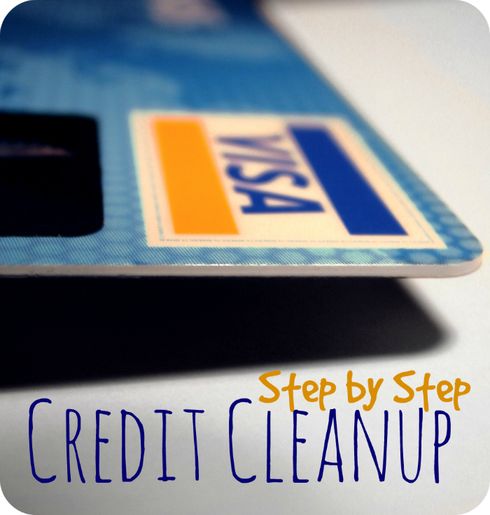 Step by Step Credit Cleanup