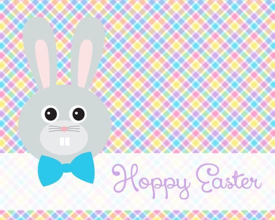 """""""Hoppy Easter"""" - Easter Bunny Printable"""