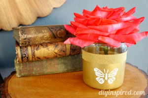 Earth Day Craft: Upcycled Bud Vase