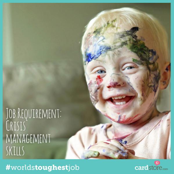 Being a Mom - The World's Toughest Job #WorldsToughestJob