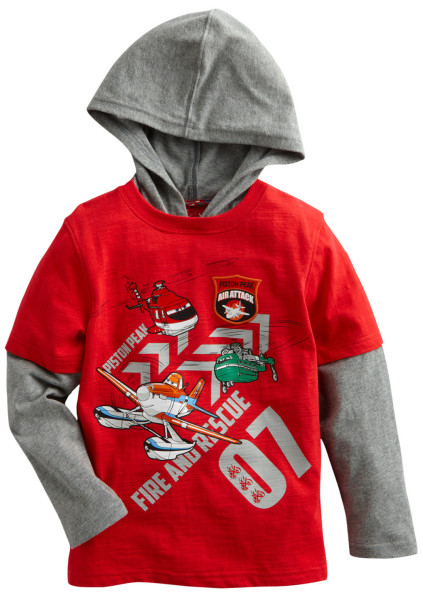 Planes: Fire and Rescue Clothing Available at Kohl's