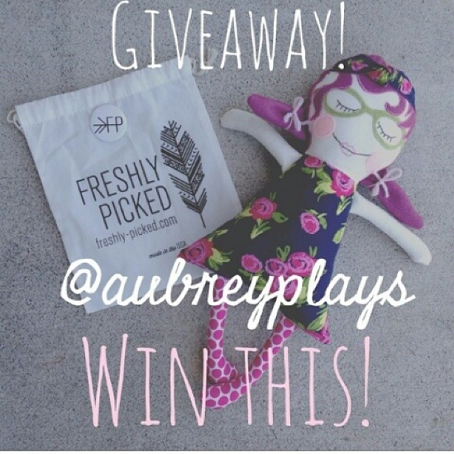 Loving this #giveaway from @aubreyplays. Head on over to her page to enter #pickedaubreyplays
