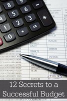 12 Secrets to a Successful Budget
