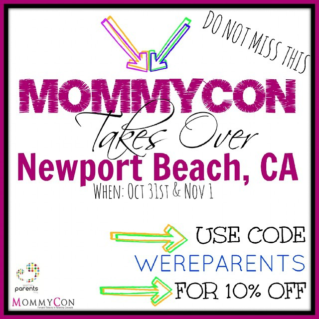 Grab tickets to @mommycon #mommyconOC for #Halloween fun - use wereparents for 10% discount #mommyconnewportbeach www.mommy-con.com