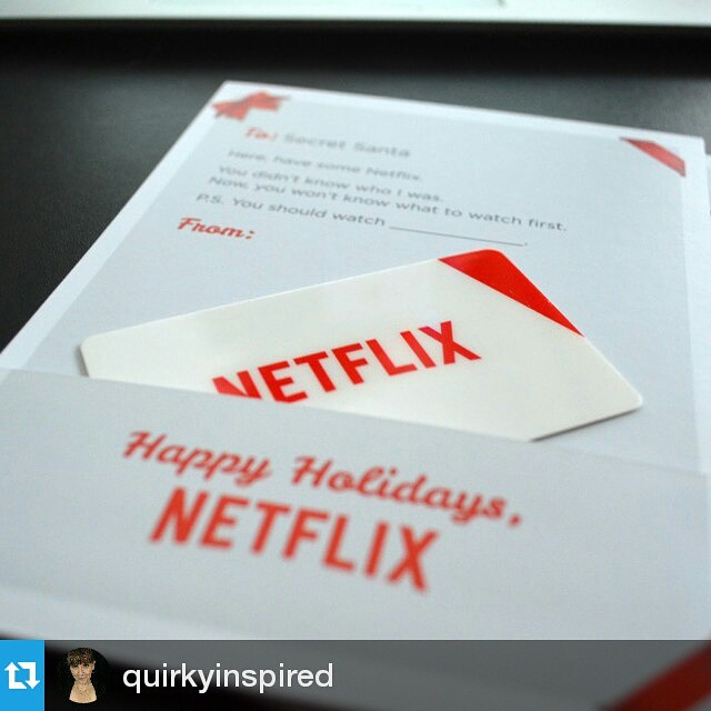#Repost @quirkyinspired ・・・ Win a year of @netflix! Regram this and tag a friend you nominate to win. Leave a comment telling why they should win. If they are picked you both get a year free! #streamteam #giveaway #netflix #happyholidays #movies #streaming  I'm tagging @lifewithlovebug because even though it seems like every time I tell her about a show I love, it gets cancelled but she's still a great friend lol