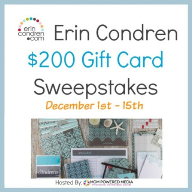 We're giving away a $200 @erincondren gift card! Head on over to enter, link is in my profile!