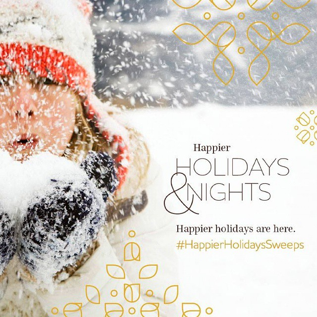 @countryinns is making it a Happier Holiday for 25 people! With the #HappierHolidaysSweeps, you can win a 4 night stay at a Country Inns & Suites location, plus a $300 gift card!  Link is in my profile for 8 Tips for a Less Stressful, Happier Holiday Season and find out how you can enter to win this great #giveaway! #sponsored