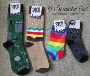 Sock It to Me Socks Make Great Stocking Stuffers