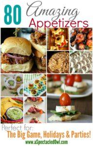 80 Amazing Appetizer Recipes