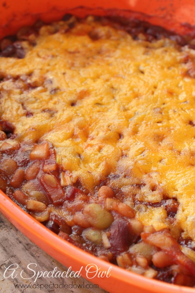Grandma Peggy's Cheesy Baked Beans - #CrystalFarmsCheese - A ...