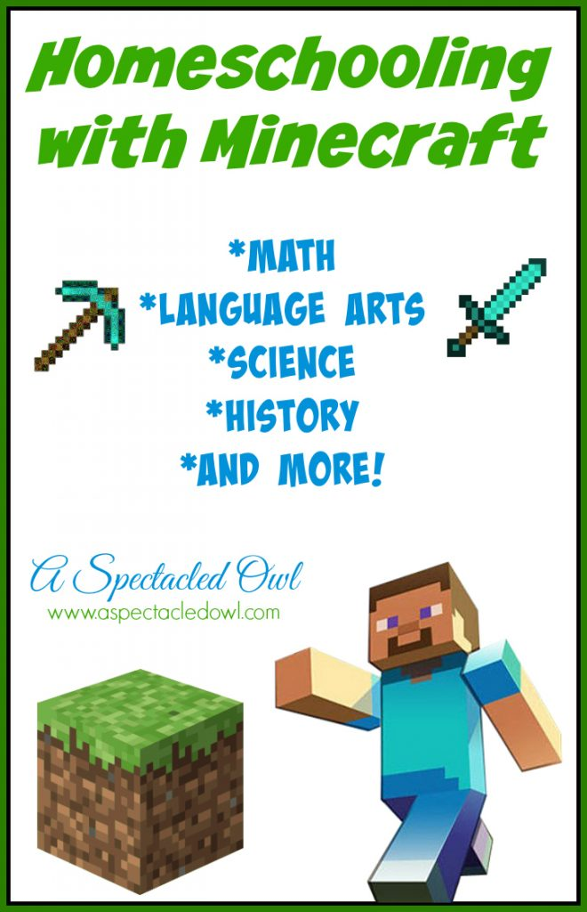 Homeschooling with Minecraft