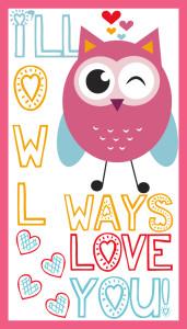 Ill Owl ways love you Valentine