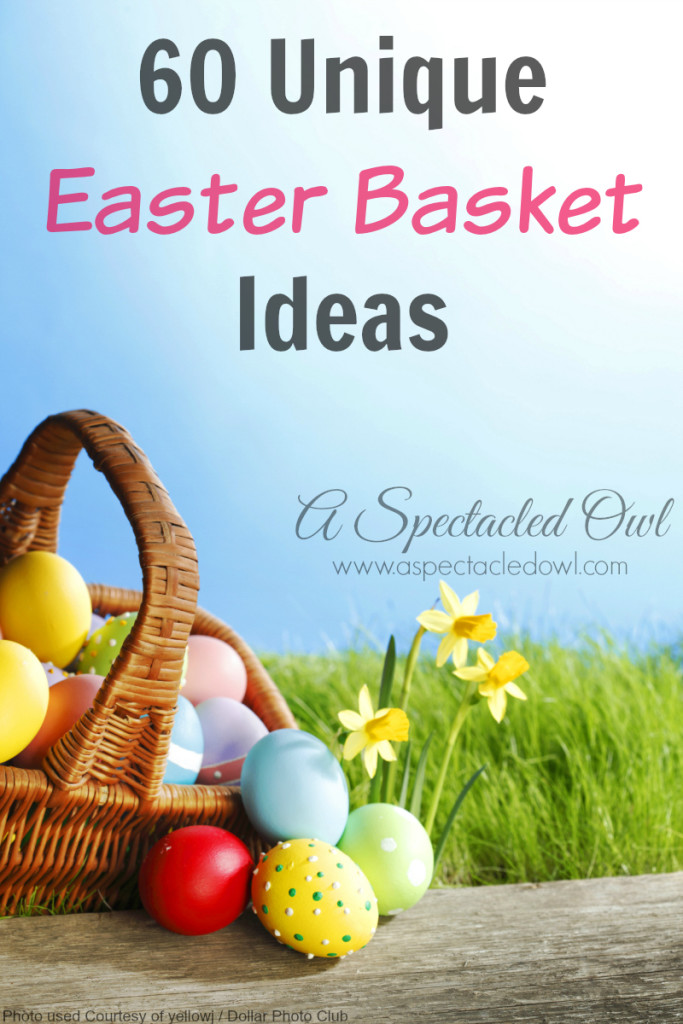 60 Unique Easter Basket Ideas A Spectacled Owl