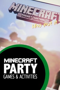 Minecraft Party Games and Activities