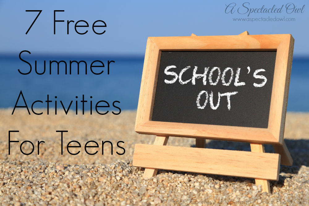 Teens Free Summer Activities For 27