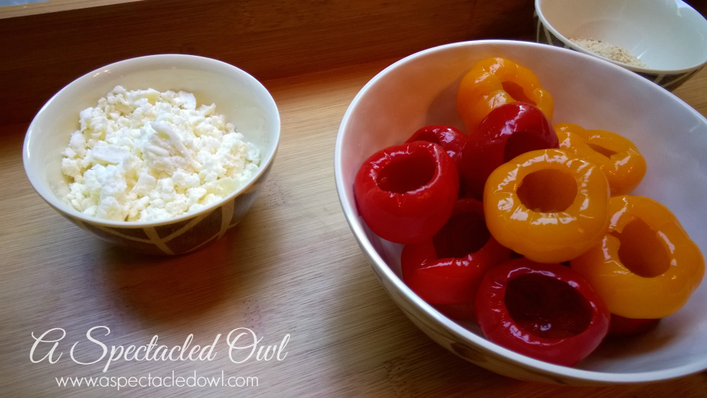Feta Cheese & Goat Cheese Stuffed Peppadew Peppers - A ...