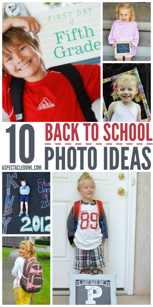 10 Back to School Photo Ideas