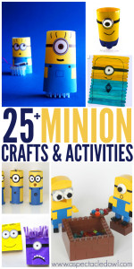 25+ Minion Crafts & Activities