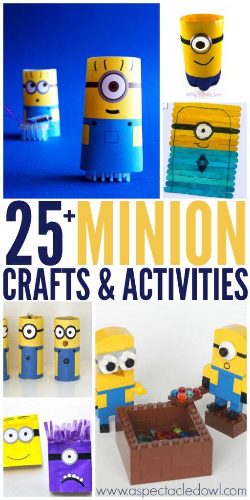 25+ Minion Crafts & Activities