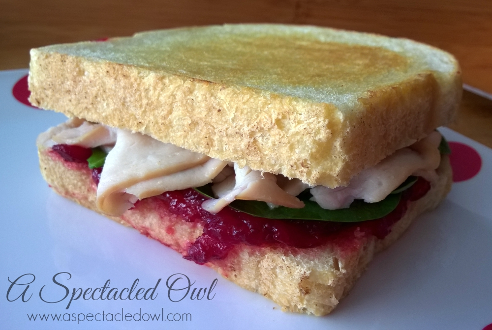 Turkey Sandwich with Cranberry & Gouda