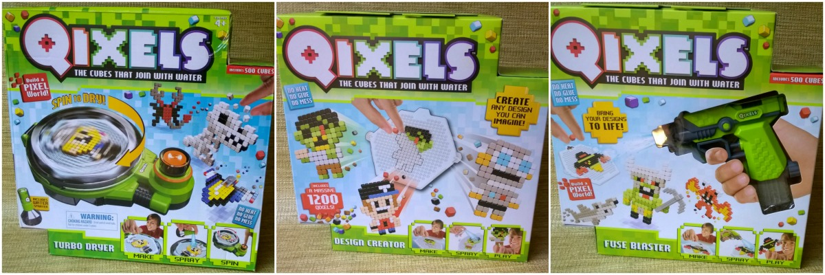 Qixels: A Great Tech Free Gift for the Holidays