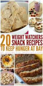 20 Weight Watchers Snacks To Keep Hunger at Bay
