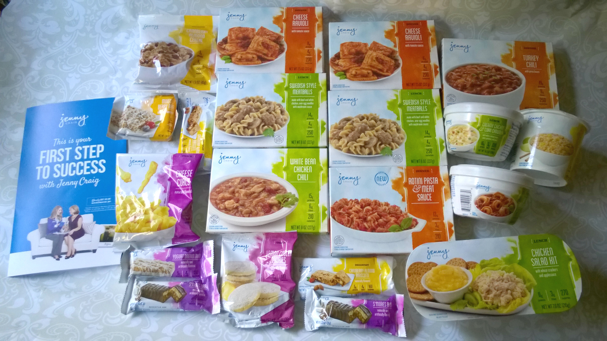 Losing Weight with the Jenny Craig Weight Loss Starter Kit #JennyCraigKit
