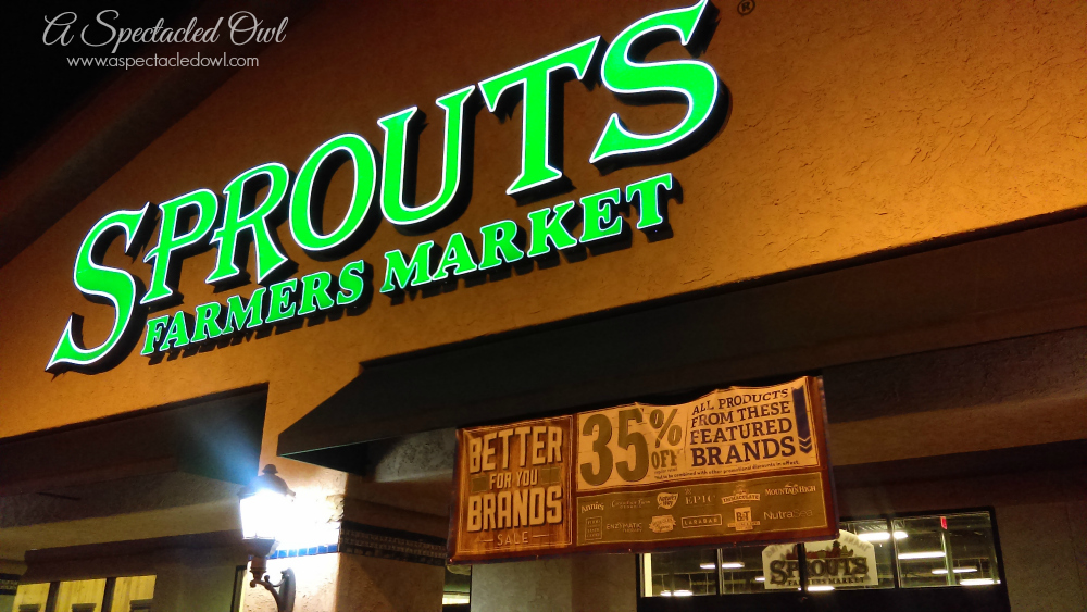 "Sprouts Farmers Market ""Better For You Brand Sale"" - Plus win a $2000 Sprouts Gift Card"